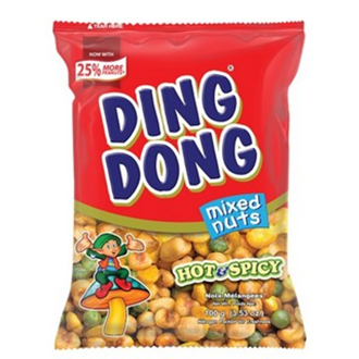 Ding Dong Mixed Nuts - Hot & Spicy 100g