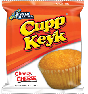 Cupp Keyk Cheesy Cheese 340g